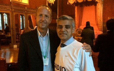 Sadiq Khan Mp and Streatham Osteopaths!