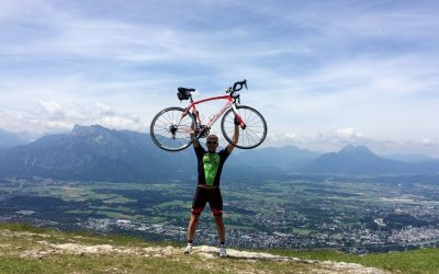 Cycling training in the Austrian Alps
