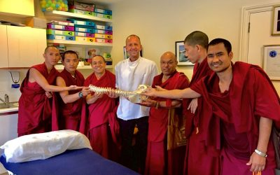 Tibetan Monks at Streatham Osteopaths